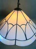 Hanglamp glas-in-lood-stijl_