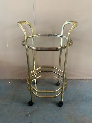 Messing trolley/barcart