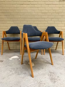 "Kai Kristiansen ""Compass chairs"""